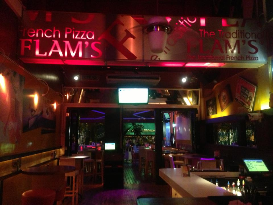 FLAM'S-The French Thin Crust Pizza